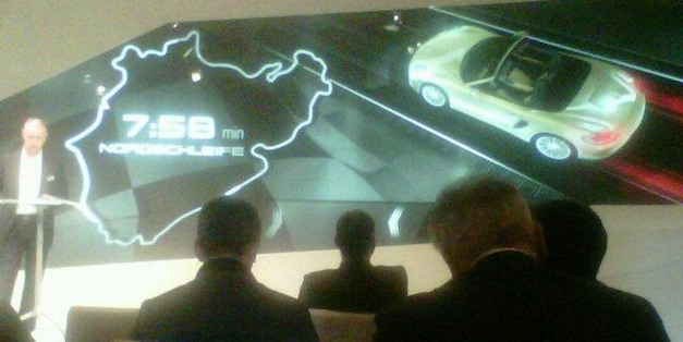 Report: 2013 Porsche Boxster S laps Nurburgring Nordschleife in 7:58