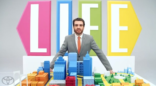 2012 Toyota Prius C launches with 'The Game of Life' ad campaign
