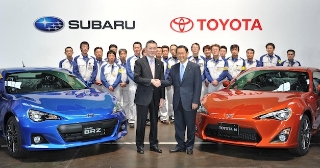 Subaru BRZ - Toyota GT 86 Production Launch