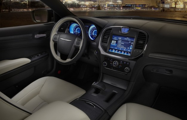 2012 Beijing Chrysler 300 Ruyi Design Concept Dashboard