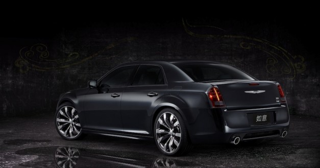 2012 Beijing Chrysler 300 Ruyi Design Concept Rear 3/4 Left Profile