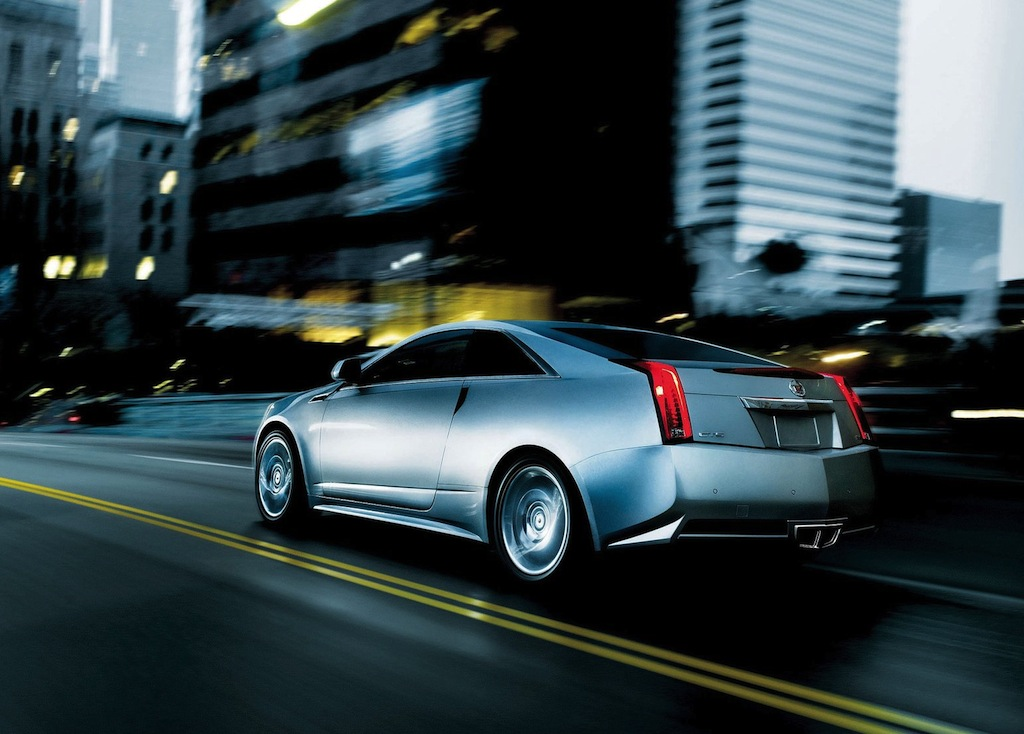 2012 cadillac cts coupe rear 3 4 left egmcartech. Cars Review. Best American Auto & Cars Review
