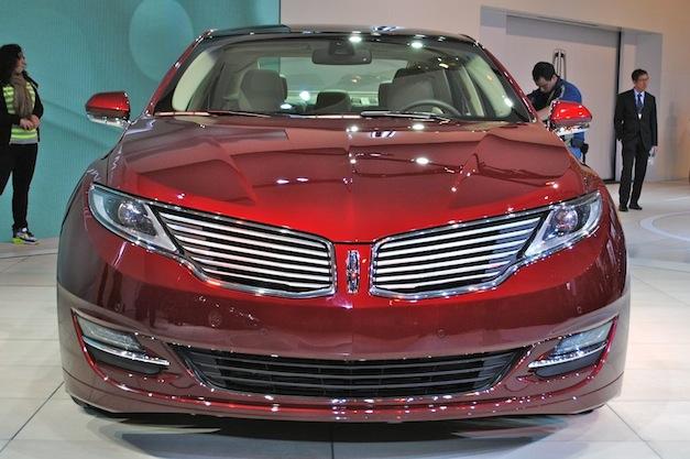2012 NY 2013 Lincoln MKZ Front
