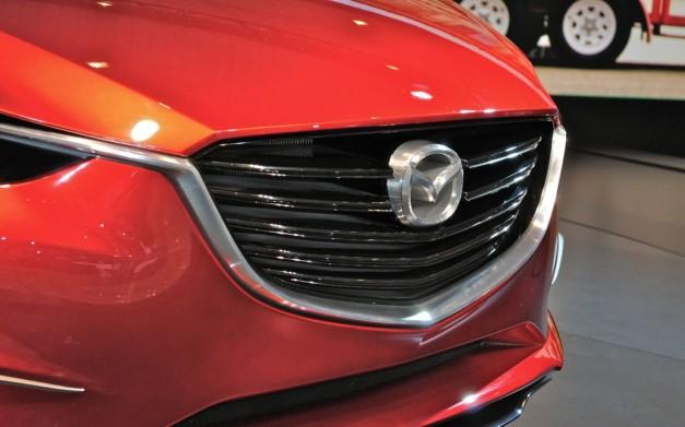 2012 NY Mazda Takeri Concept Grille