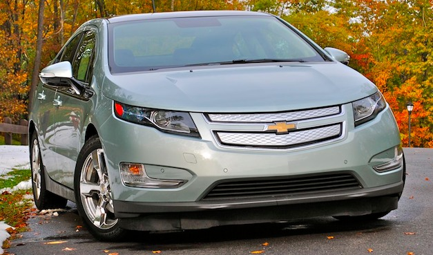 Former president George H.W. Bush buys Volt for his son's birthday