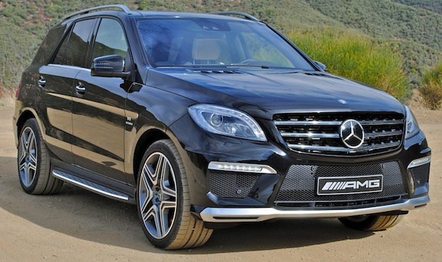 First Drive: 2012 Mercedes-Benz ML63 AMG is a mean grocery getter