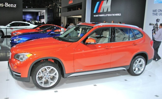 2012 New York: 2013 BMW X1