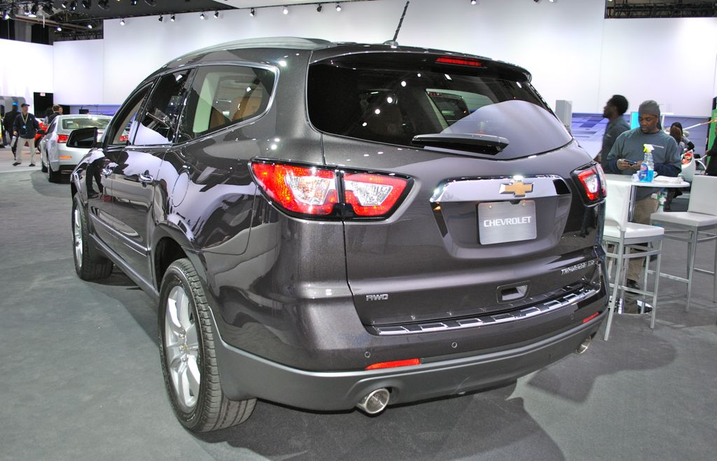 New 2013 Chevrolet Traverse Prices Invoice Msrp Motor