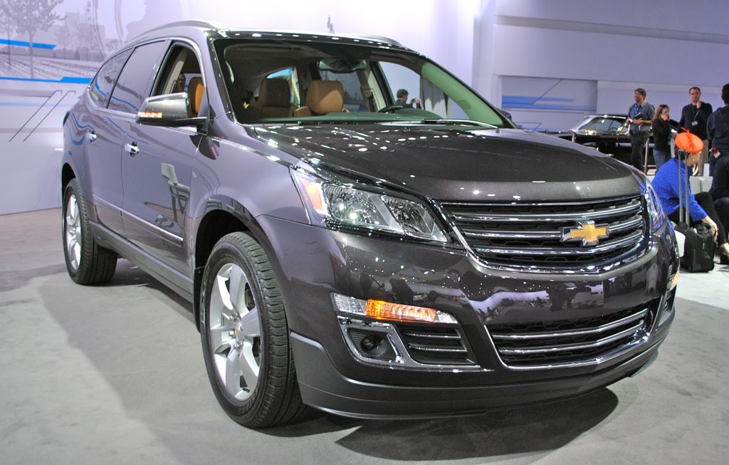 2012 New York: 2013 Chevrolet Traverse