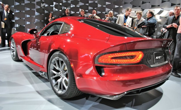 2012 New York: 2013 SRT Viper