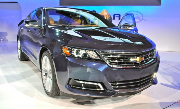 2012 New York: Chevrolet debuts the new 2014 Impala, making the segment more challenging