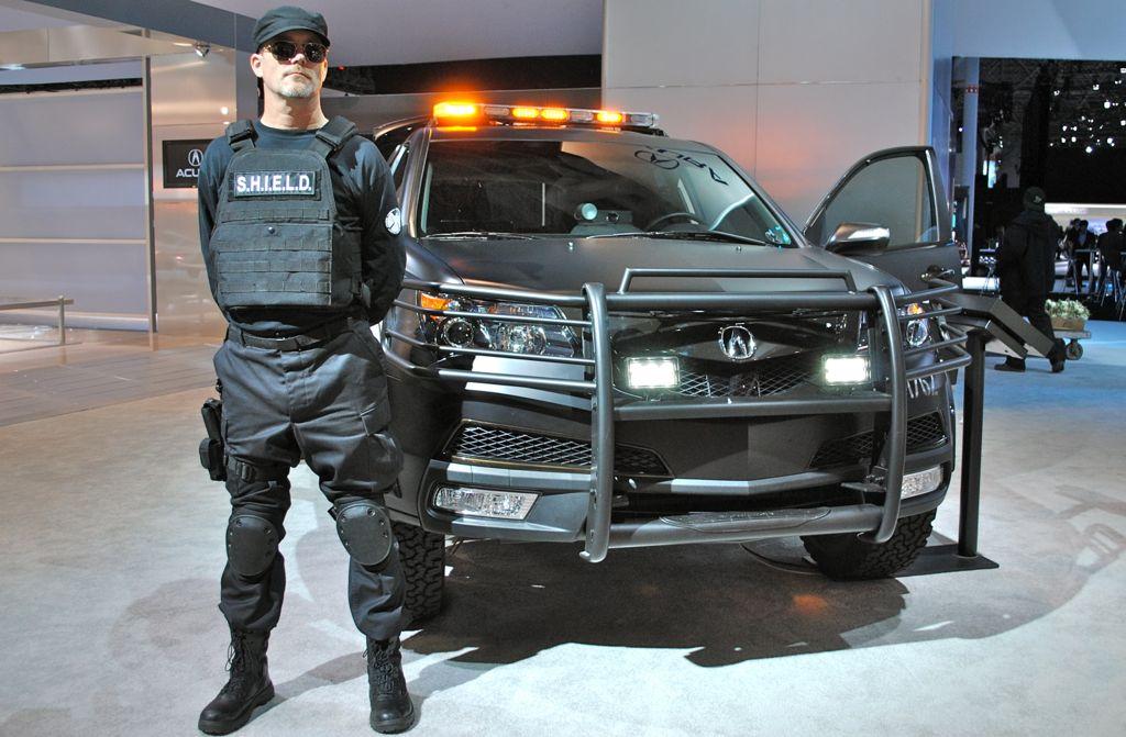 2012 New York: Avengers Acura MDX