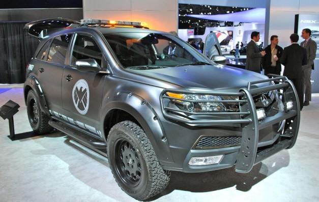 2012 New York Avengers Acura Mdx Egmcartech