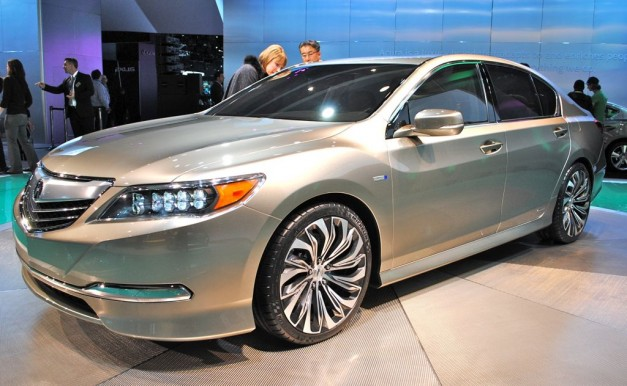 2012 New York: Acura RLX Concept poses as the replacement to the RL