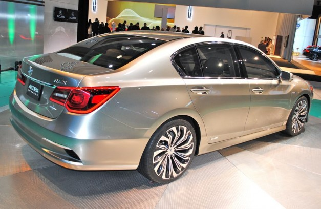 2012 New York: Acura RLX Concept