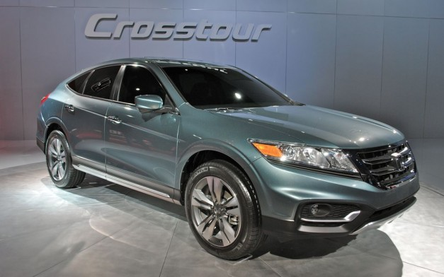2012 New York: 2013 Honda Crosstour Concept gets an extremely modest update