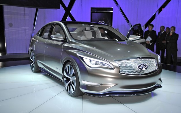 2012 New York: Infiniti LE Concept
