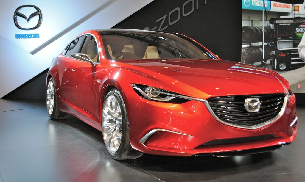 2012 New York: Mazda Takeri Concept
