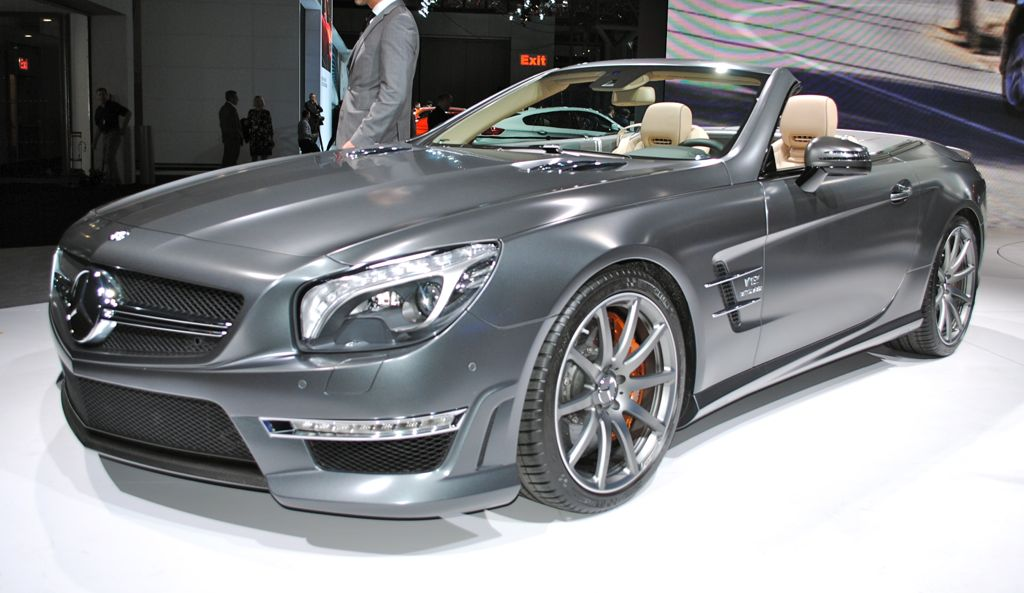 2012 New York: 2013 Mercedes-Benz SL65 AMG