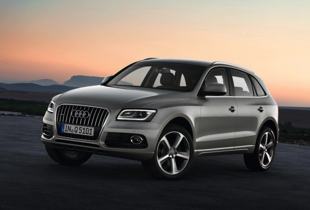 Audi unveils updated Q5 for 2013, complete with new hybrid version