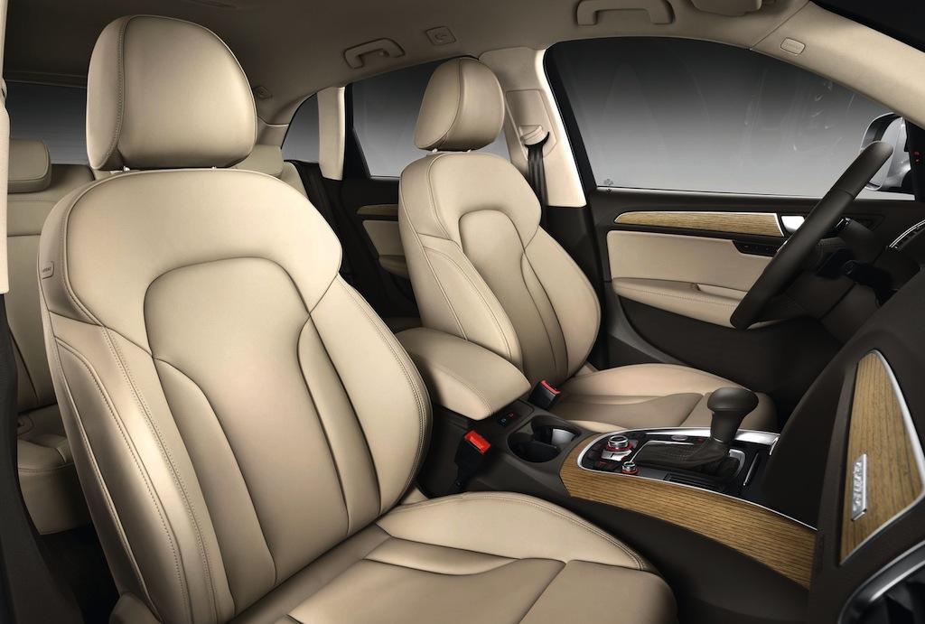 2013 Audi Q5 Front Seats - egmCarTech