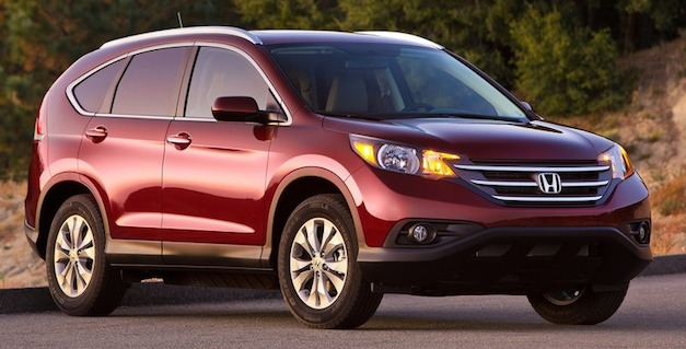 Honda CR-V beats Mazda CX-5 in small CUV test