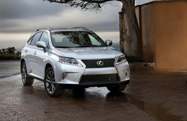 2013 Lexus RX350 F-Sport