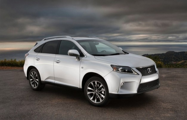 Report: Lexus refrains from F-branded crossovers