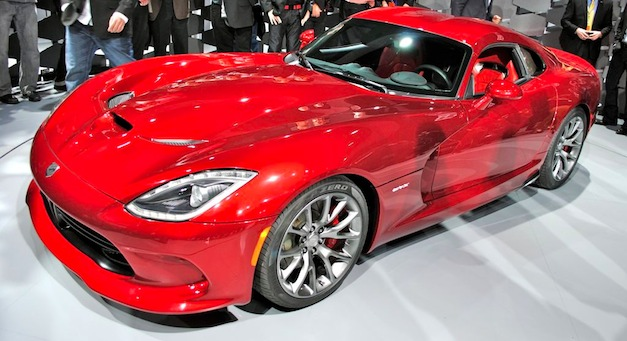 2013srtvipersidelive First production 2013 SRT Viper to be auctioned off