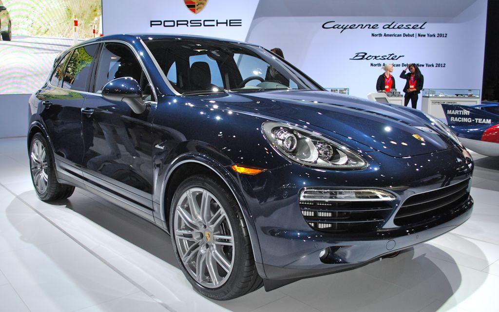2012 New York: 2013 Porsche Cayenne Diesel