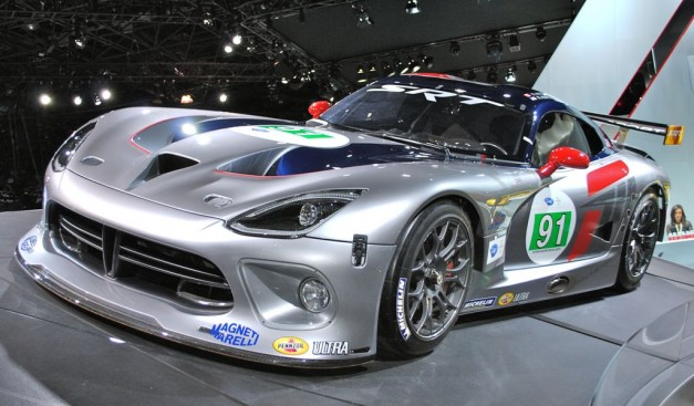 2012 New York: SRT Viper GTS-R shows off motorsports version for ALMS