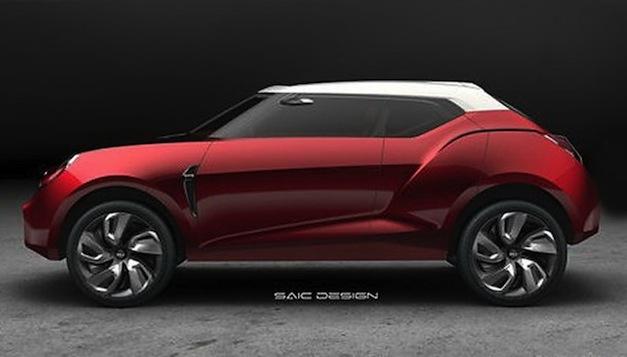 SAIC MG Icon Concept
