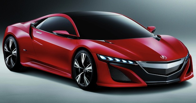 Brand Spankin&#8217; New Images: Acura NSX shows up in red during Beijing