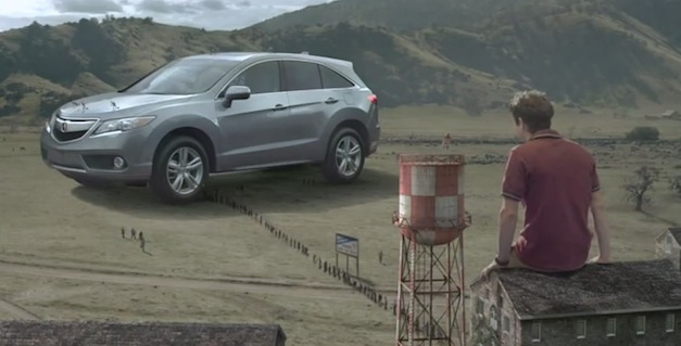Videos: Acura launches Gulliver&#8217;s Travels themed commercials for new 2013 RDX