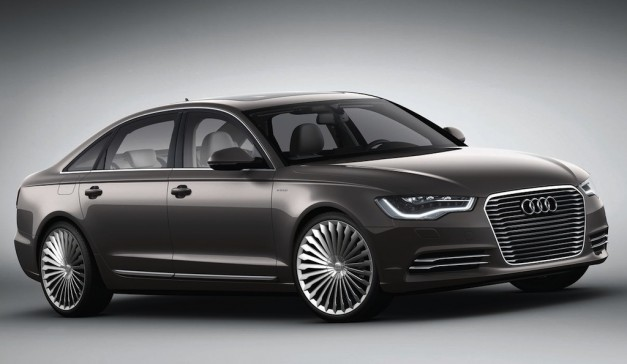 2012 Beijing: Audi A6 L e-tron Concept can go 50 miles without using gas