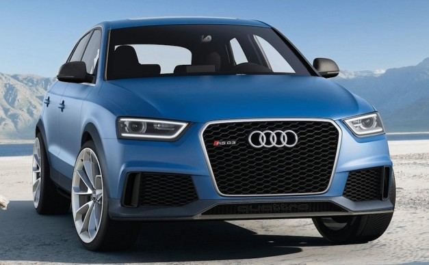 Audi RS Q3 Concept shows up with 360-hp