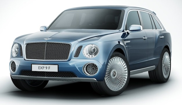 2012 Beijing: Bentley outlines powertrain options for production SUV model