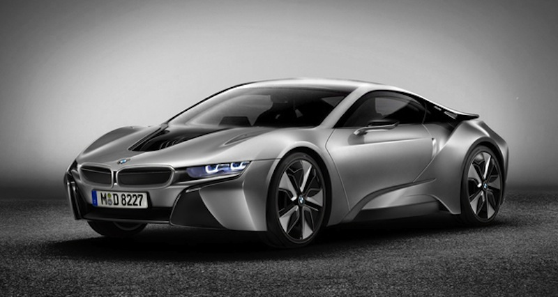 BMW i8 Coupe Photo Rendering