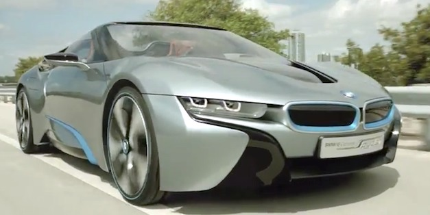 Video: BMW i8 Spyder promotional footage