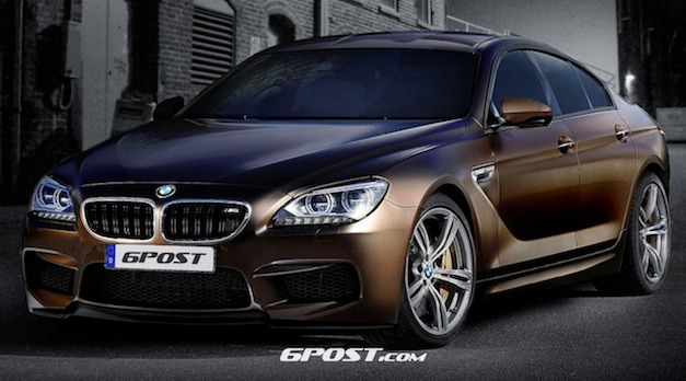 Photo Rendering: This is what the BMW M6 Gran Coupe could look like