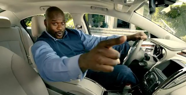 Shaq and the Buick LaCrosse eAssist