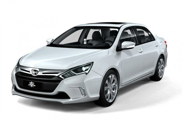 2012 Beijing: BYD Qin Concept