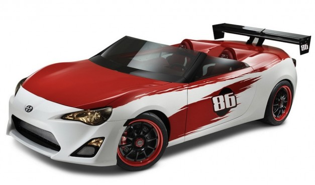 cartel customs makes speedster version of scion fr s egmcartech egmcartech. Black Bedroom Furniture Sets. Home Design Ideas