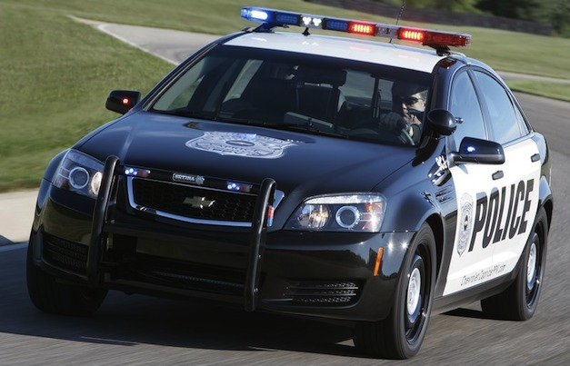 Chevrolet Caprice Police Vehicle