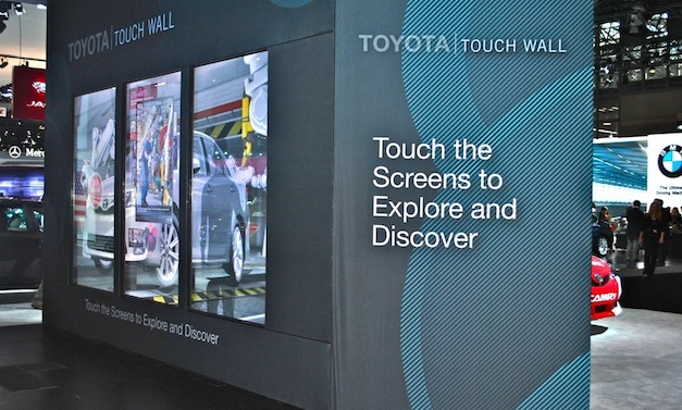 2012 New York: Toyota Display