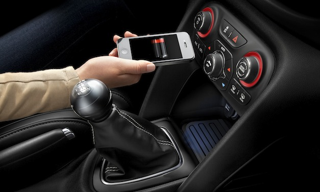 dodgedartwificharging Dodge Dart to offer in vehicle wireless charging for your cell phone