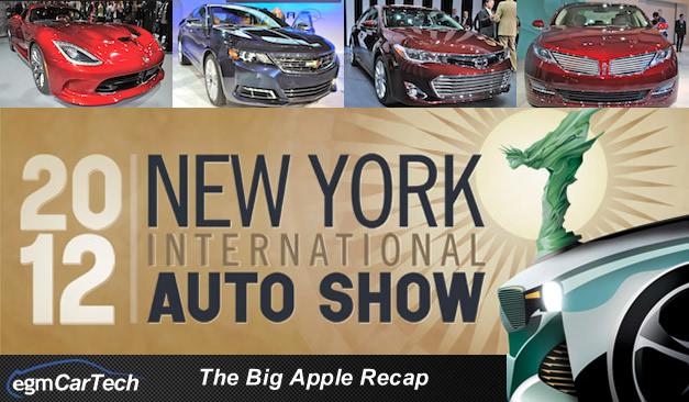 egmCarTech's 2012 New York Auto Show Recap