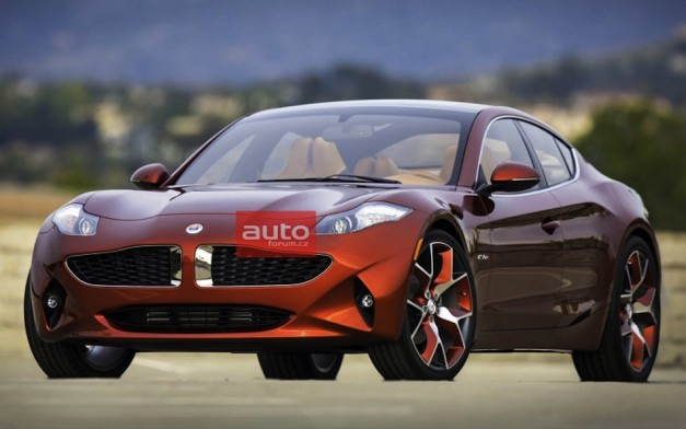 Fisker Atlantic images get leaked ahead of New York debut