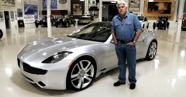 Video: Jay Leno drives the Fisker Karma