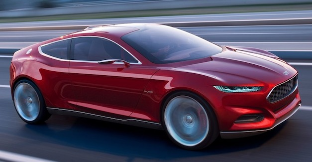 Report: 2014 Ford Mustang to be influenced by Evos Concept
